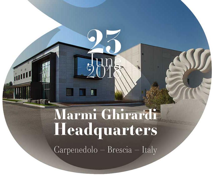 23 June 2018 Marmi Ghirardi